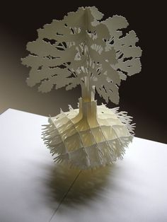 keywords: pop-up card, pop-up paper sculpture, foldable paper craft Kirigami, Origami Paper Art, Paper Crafts, Paper Cutting, Architecture Origami, Pop Up Art, Paper Pop, Paper Engineering, Modelos 3d