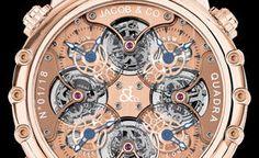 #luxury Jacob & Co Napoleon Quadra Tourbillon 1443-422 @watchonista #watches
