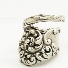 Spoon Ring...love the detail on it!