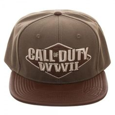 cd4c5e2130e Call of Duty  World War II 3D Embroidered Snapback
