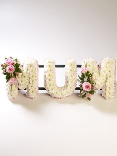Named Frames from £25.00 per letter and delivery.