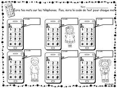Mots usuels: French Sight Word Activity -... by La classe de Madame Angel | Teachers Pay Teachers
