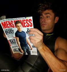 "zacefron: "" Ugh this just makes me self conscious- the story is really great though- if you have time to read it- it's a pretty accurate about my life at the moment. Thanks @mensfitness http://www.whosay.com/l/jvEbKri #humbled View more Zac Efron on..."
