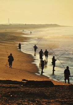 Flyfishing at the beach of El Palmar!