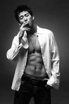 KyeSang Yoon (윤계상) He was a korean singer in G.O.D. but he looks hot. Korean Celebrities, Korean Actors, L Kpop, Asian Eyes, Man Smoking, Le Male, Kdrama Actors, Korean Men, My Favorite Part