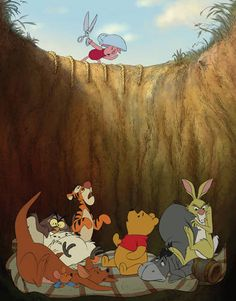 the 100 acre wood's gang