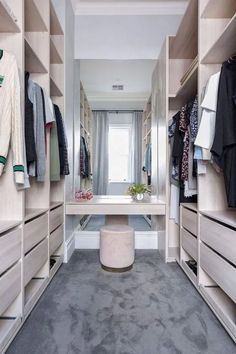 53 Elegant Closet Design Ideas For Your Home. Unique closet design ideas will definitely help you utilize your closet space appropriately. An ideal closet design is probably the only avenue . Walk In Closet Design, Bedroom Closet Design, Master Bedroom Closet, Closet Designs, Mirror Bedroom, Small Walk In Closet Ideas, Small Walking Closet, Master Closet Layout, Walk In Closet Inspiration