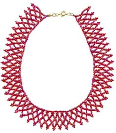 netted collar necklace