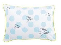 Grey Birds Pillowcase – The Foxes Den