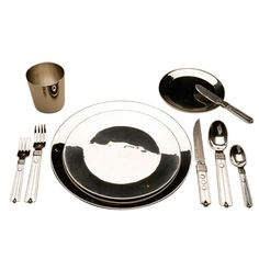William Spratling  Sterling Silver Service Set | From a unique collection of antique and modern dinner plates at http://www.1stdibs.com/furniture/dining-entertaining/dinner-plates/