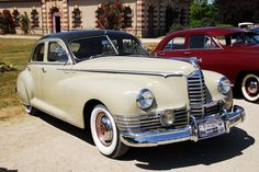1947 PACKARD Custom Super Clipper - Damn fine car! Would love to drive one today. The mpg is horrible though.