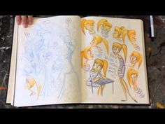 Vivienne's Sketchbook - For the Love of Animation - YouTube