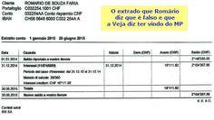 BLOG DO IRINEU MESSIAS: Quem falsificou os extratos de Romário? A Veja, o ...