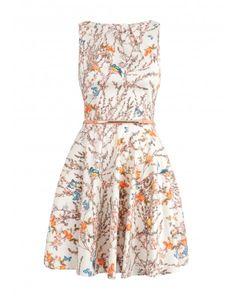 Closet Bloomsbury Autumn Bloom Flare Dress