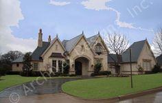 Valencio Estate House Plan - Front