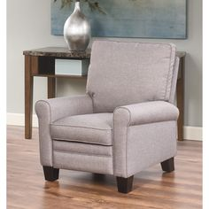 Abbyson Julian Pushback Fabric Recliner (Grey) Size Small (Polyester) & Riverside Charcoal Recliner | Overstock.com Shopping - The Best ... islam-shia.org