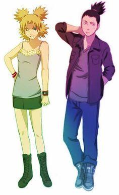 I ship it <3 naruto Temari and Shikamaru