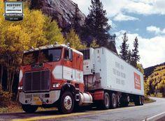 1975 White FreightLiner Cabover