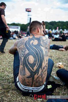 Awesome Slipknot tattoo!!