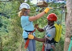Ziplines are amazing-for adventure seekers In the Antigua Rainforest - 1great-trip.com