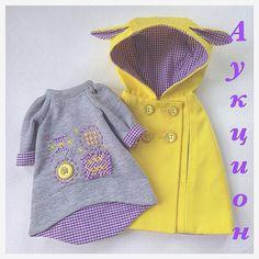 WEBSTA @ dina70k - АУКЦИОН! Комплект одежды (платье и плащ) и набор выкроек…