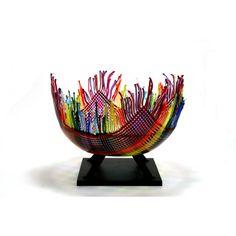 Beautiful art glass by Paula Marksbury