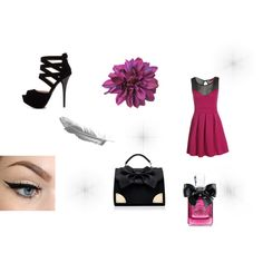 """Purple"" by alinebrehier on Polyvore"