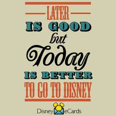 Today please!