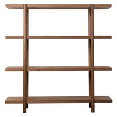 Image result for floating timber shelves study