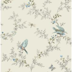 Colours Heligan Cream Wallpaper: Image 1