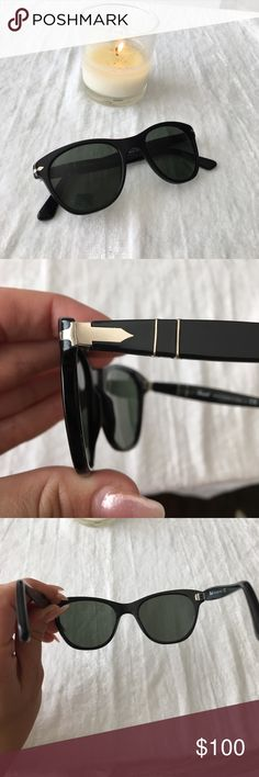 Person Sunglasses! BRAND NEW without box- Persol black Sunglasses!  95/31 Persol Accessories Sunglasses