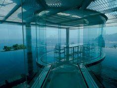 Kengo Kuma project. Water/Glass House. Atami, préfecture de Shizuoka. 1995 - Housing