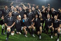 New Zealand Rugby Goes All Black