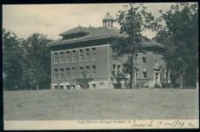 Postcard CHICAGO IL Chicago Heights High School View