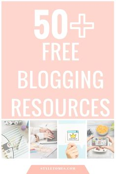 A free blogging resources directory covering everything from writing tools, blog optimization, graphic design, business resources to marketing & SEO.