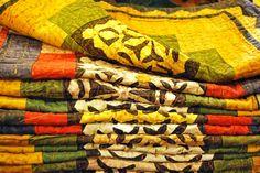 Fundes de coixí de patchwork, India