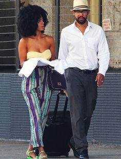 "Solange Is ""Happily Committed"" to Boyfriend, Can't Live Without Sex + Believes in Flats"