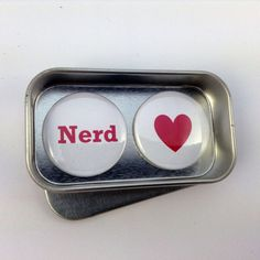 Fun Valentine Day Birthday Nerd Magnet Gift Set Say It With Magnets Perfect Small Gift Handmade Complete with Gift Tin Valentines Day Birthday, Birthday Gifts, Nerd Gifts, Tin Gifts, Small Gifts, Magnets, Greeting Cards, Handmade Gifts, Sayings