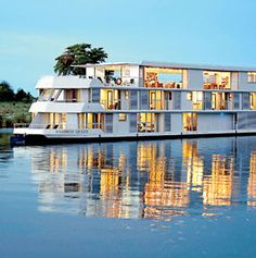 Take a Riverboat Safari - Picture yourself on the top deck of a boat, sitting in a jacuzzi with a glass of Stellenbosch Pinot Blanc, watching for elephants, hippos, or rare puku antelope in the floodplains of the Chobe River.   BelAfrique your personal travel planner - www.BelAfrique.com