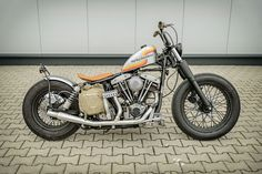 Harley Davidson Shovel Head '74. This is my own bike, will never sell it... :-)