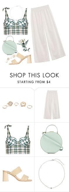 """""""Untitled #1276"""" by shannonmichellex ❤ liked on Polyvore featuring GUESS, Rosie Assoulin, Tammy & Benjamin, Alice + Olivia and H&M"""