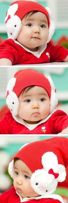 OMG! rabbit ears hat