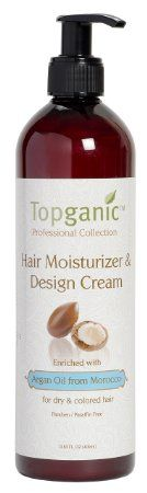 Mimi Loves All 8: Topganic Hair Moisturizer and Design Cream  Review...