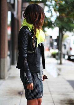 秋コーデに大活躍♡絶対欲しい黒革ジャケットのピカイチ着こなし術♪ | ギャザリー