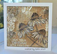 Image result for coloring tim holtz flower garden stamps blogs