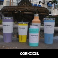 #Corkcicle has new Spring colors NOW at #WalkOnWaterBoutiques