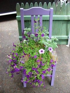 Re-purposed chair <3 #ChairRepurposed