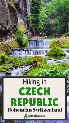 Hiking in Czech Republic is an incredible way to explore the country. Make sure you head north to do some hiking in Bohemian Switzerland National Park - it will take your breath away.