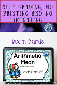 Boom Cards™ are a great way for students to practice every day skills. In this deck, students practice finding the missing terms in an Arithmetic Sequence. This set of Boom Cards features 40 different Digital Self-Checking Task Cards. (No printing, cutting, laminating, or grading!) #bluemountainmath #geometry