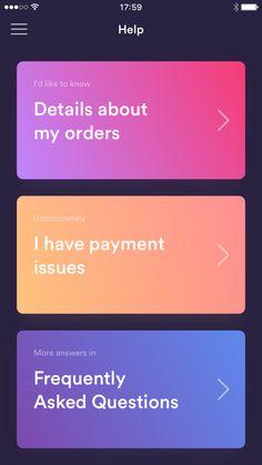 Customer support dark